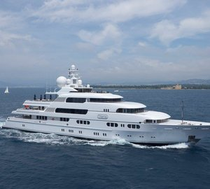 Superyacht Titania ready for charter in the Western Mediterranean