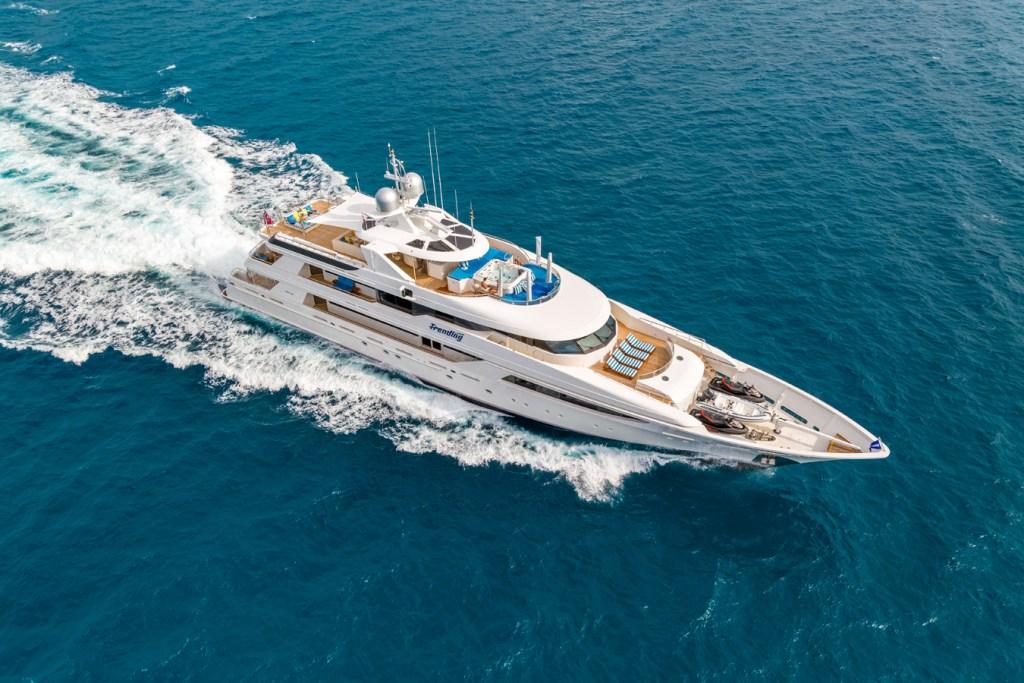 Luxury yacht TRENDING - Built by Westport