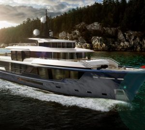 Vripack unveils new MCP 120 luxury yacht concept