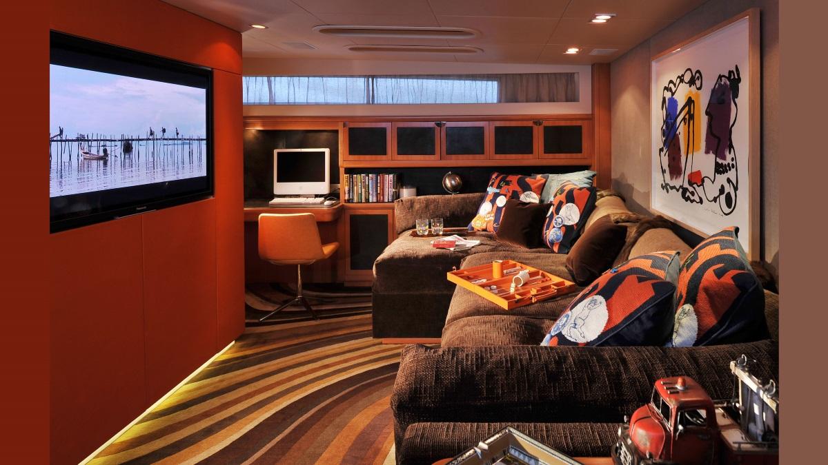 Motor yacht CHEEKY TIGER - Entertainment room