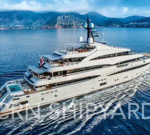 Superyacht Cloud 9 to be presented at the Monaco Yacht Show