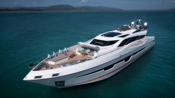 Motor yacht DOLCE VITA - Built by Numarine and ready for charter in Thailand
