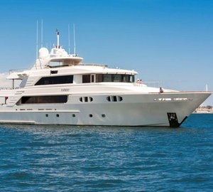 Luxury yacht Far From It ready for charters in the Bahamas and Caribbean