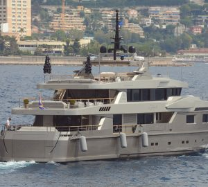 5 amazing luxury charter yachts spotted in August