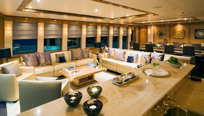 Motor yacht HOKULANI - Main salon