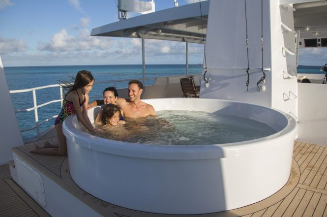 Motor yacht MARCATO - Spa pool