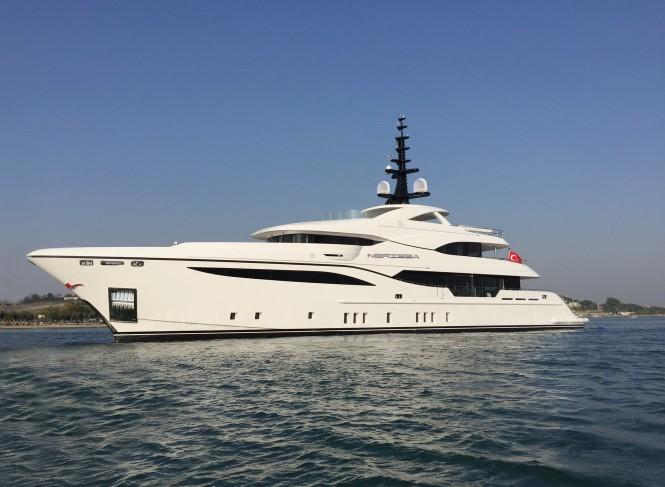 Motor yacht NERISSA - Built by Bilgin Yachts