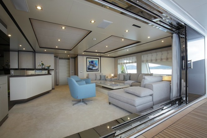 Motor yacht WILLOW - Skylounge
