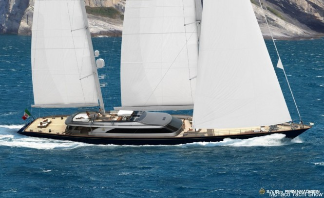 Sailing yacht SEVEN (ex.C2232) from Perini Navi