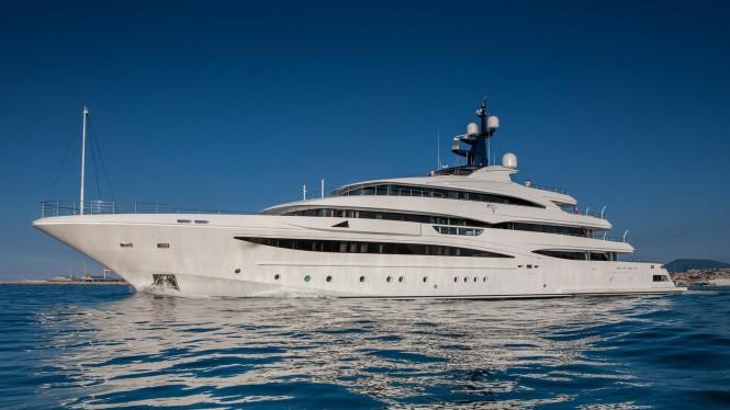 Superyacht CLOUD 9 - Built by CRN