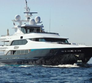 Charter gorgeous luxury yacht Eleni in the Western Mediterranean
