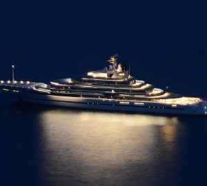Video: Amazing aerial view of superyacht stunner Jubilee