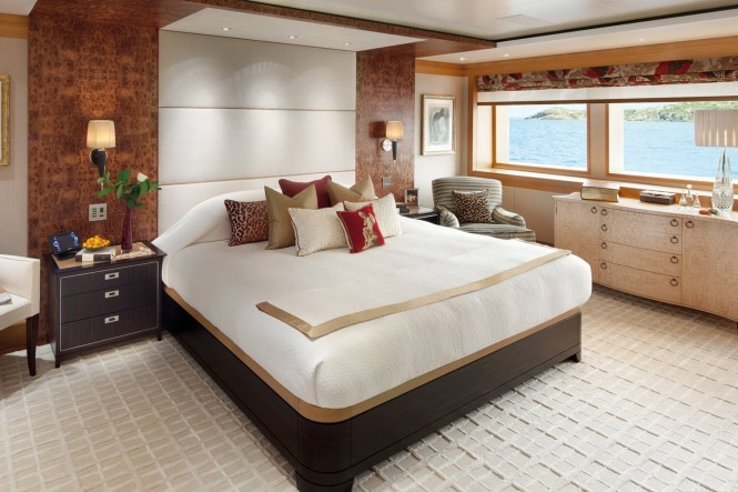 Superyacht LADY BRITT - Master suite
