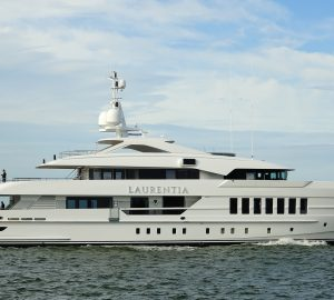 Heesen's M/Y Project Alida renamed Laurentia and undergoing sea trials