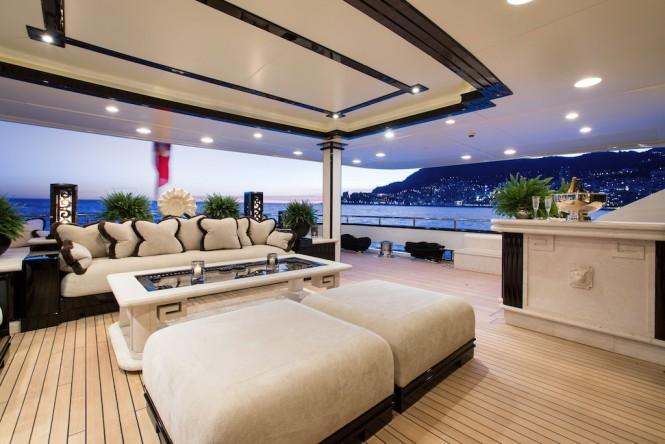 Superyacht LIONESS V - Main deck aft