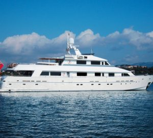 Luxury charter yacht Lionshare ready for the Caribbean and Bahamas
