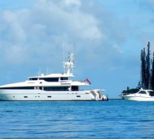 Superyacht Masteka 2 ready for charter in breath-taking New Caledonia, the South Pacific