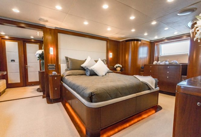Superyacht MASTEKA 2 - Master suite
