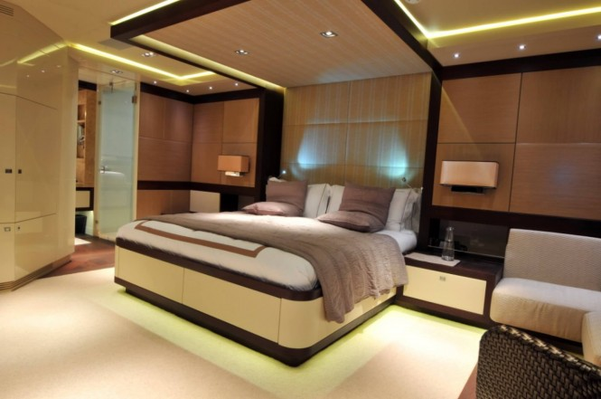 Superyacht MEYA MEYA - Master suite