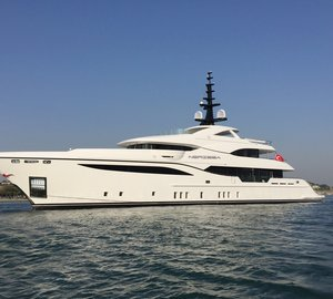 Bilgin Yachts successfully launches motor yacht Nerissa