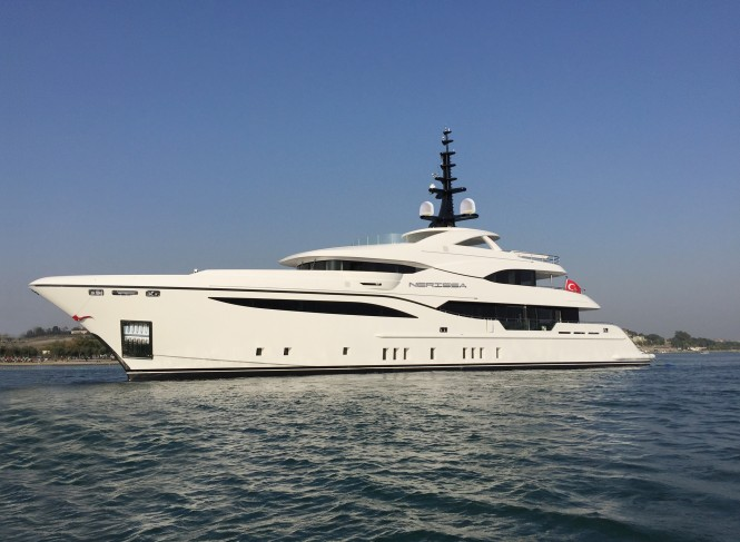 Superyacht NERISSA built by Bilgin Yachts will debut at the Monaco Yacht Show in September
