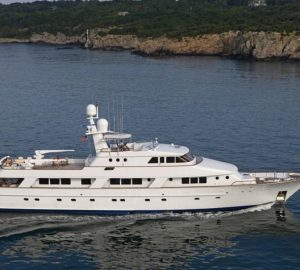 Special offer: Charter superyacht Rena in New England at an end-of-season rate