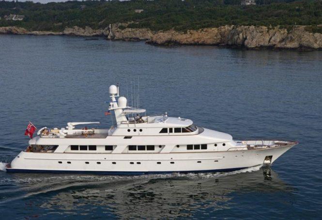 Superyacht RENA - Built by Sanlorenzo