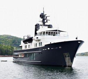 Charter explorer yacht RH3 in the Mediterranean