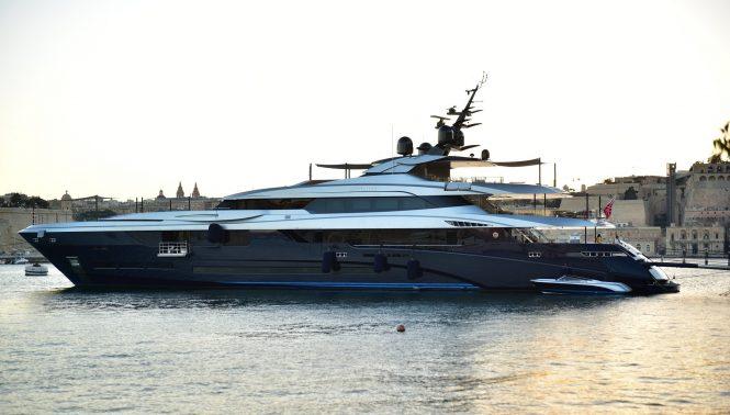 Superyacht SARASTAR - The 60m Mondomarine flagship