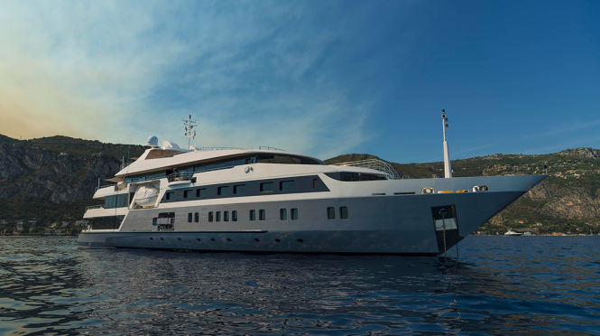 Superyacht SERENITY - Built by Austal and available In the Indian Ocean this winter season