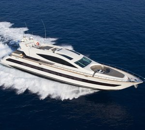 Motor yacht Toby ready for charters in Sardinia