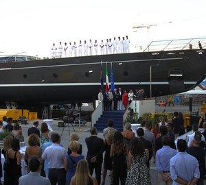 Perini Navi launches 60m/170ft sailing yacht Seven