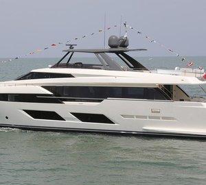 Ferretti launches first motor yacht of the Ferretti 920 series