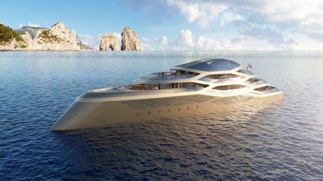 77m Benetti mega yacht SE77ANTASETTE