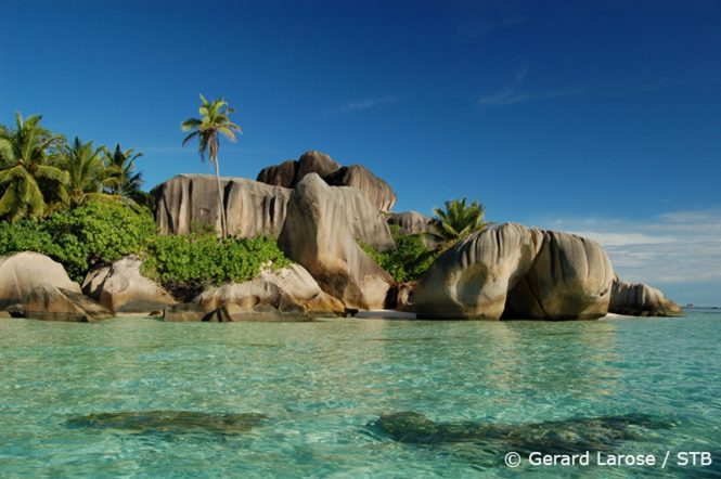Anse Source d'Argent. Photo credit Gerard Larose via Seychelles Tourism Board