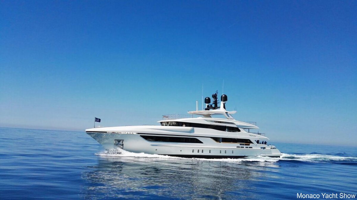 Baglietto luxury yacht ANDIAMO is attending the Cannes Yachting Festival