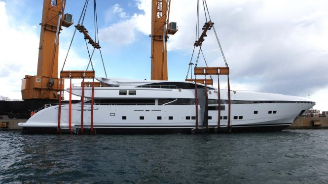 CCN motor yacht ELSEA at launch