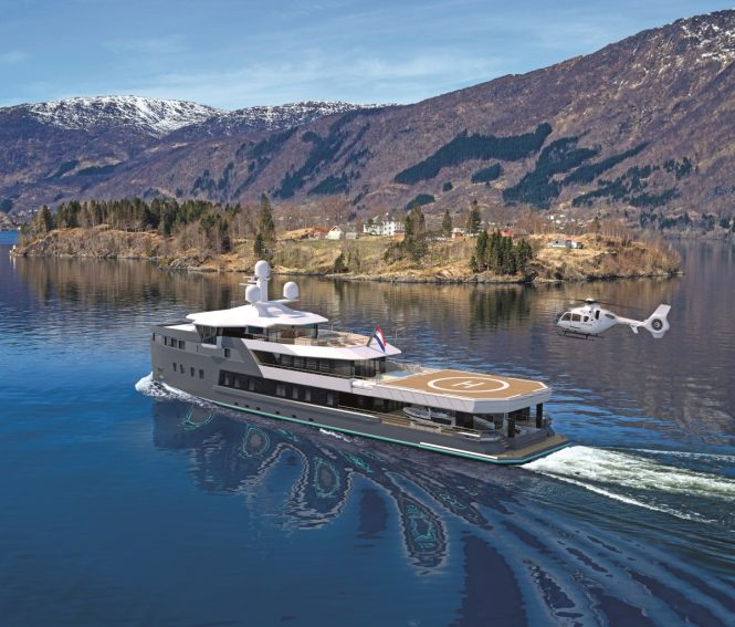 Damen expedition yachr SeaXplorer 55 concept