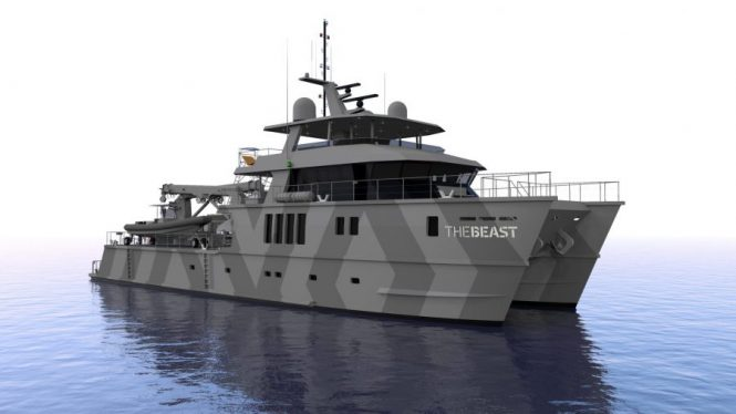 Expedition catamaran THE BEAST - To be built by Profab Engineering, New Zealand