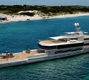 Silver Yachts provides construction status for 85m Silver Loft in build