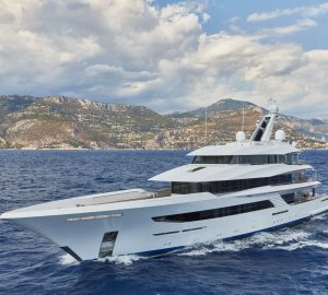 Special offer: Reduced charter rate on exceptional superyacht Joy in the Western Mediterranean