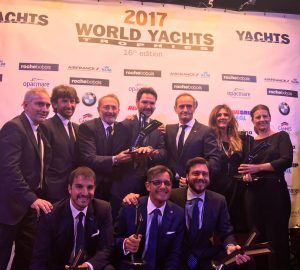 Resounding success for Azimut and Ferretti Group at the World Yachts Trophies 2017