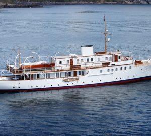 Historic luxury yacht Malahne ready for Mediterranean charters
