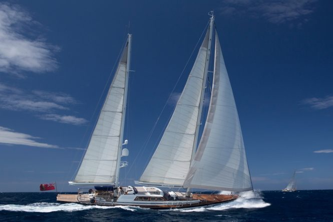 Jongert Yachts-built luxury ketch INFATUATION