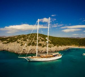 Luxury schooner ZanZiba available for Eastern Mediterranean charters