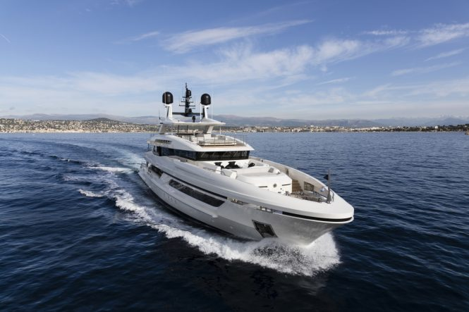 Luxury yacht ANDIAMO - Launched in June by Baglietto