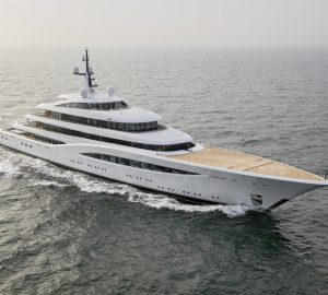 Feadship superyachts Faith and Air return to the Netherlands for refit