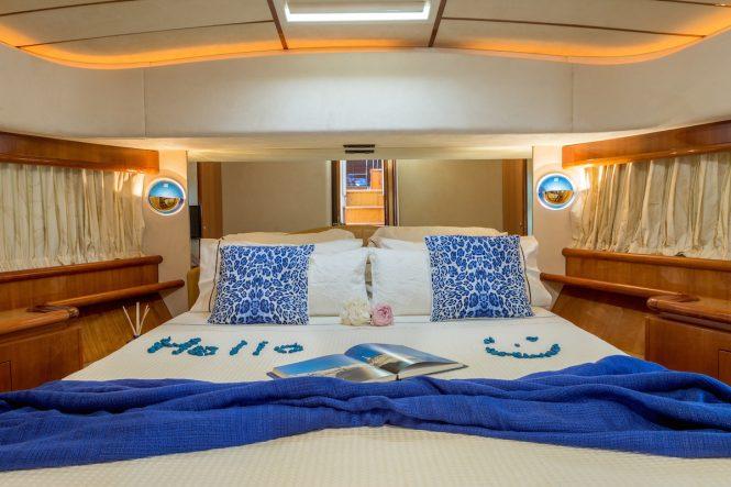 Luxury yacht MELI - Guest suite
