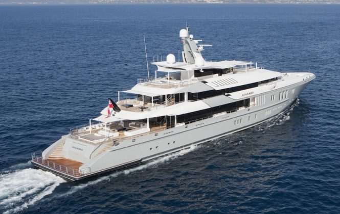 Luxury yacht MOGAMBO - Built by Nobiskrug. Photo credit: Bruce Thomas
