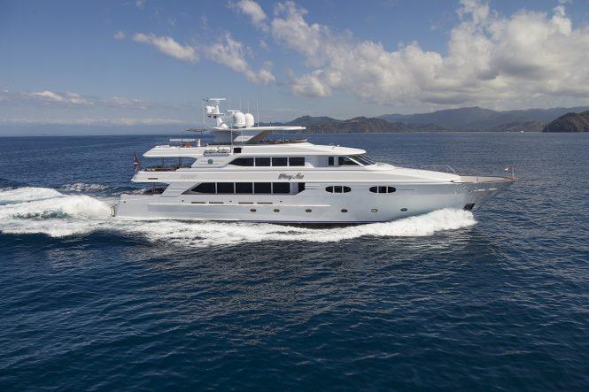 Luxury yacht PENNY MAE (exKERI LEE) from Richmond Yachts